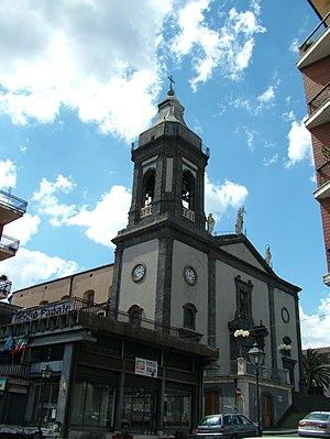 Belpasso - Mother Church.