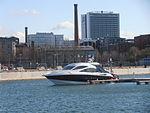 Beluga MMSI 230033910 at Pier in Tallinn 5 May 2013.JPG