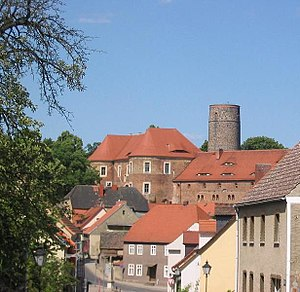 Bad Belzig - Old Town with Eisenhardt Castle