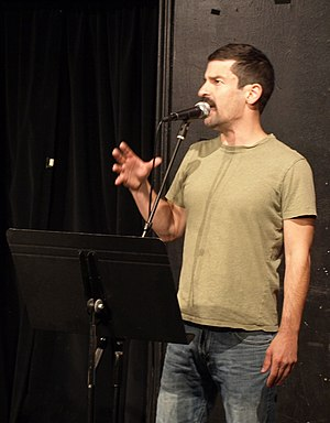 Robert Ben Garant - Garant performing at UCB theater in Los Angeles, March 2009