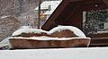 Bench at Dorfplatz Fresach 01.jpg