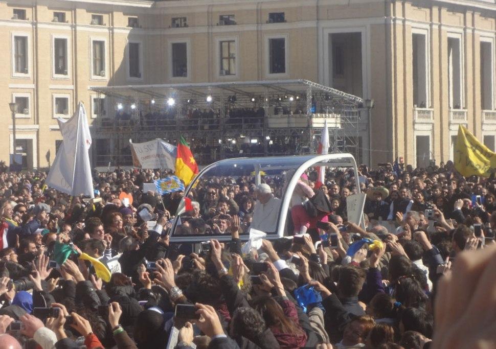 Benedict XVI's Last Audience