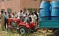 Benin brown tractor 600.jpg