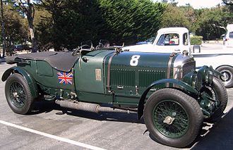 1929 24 Hours of Le Mans - Bentley Speed Six