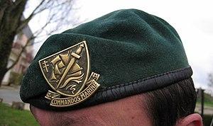 Green beret - Commandos Marine beret