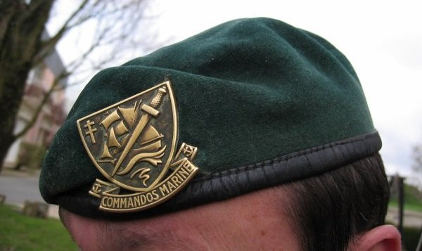 Beret commando marine français