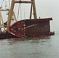 Berging kruiplijn Coaster Susanne in de Westerschelde door de firma Smit tak ID52538.jpg