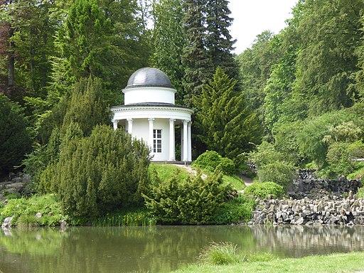 Jussow-Tempel im Bergpark Wilhelmshöhe
