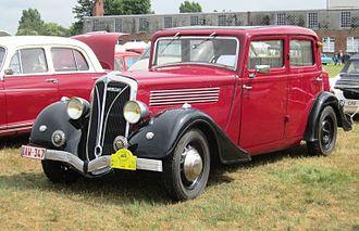 Berliet - Berliet Dauphine 11CV (ca 1936).