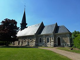 The church in Berville-la-Campagne
