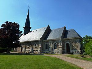 Berville-la-Campagne - Image: Berville la Campagne (Eure, Fr) église Notre Dame de Fatima