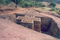 Iglesia de San Jorge, Lalibela, Etiopía