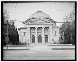 Brush Park - Temple Beth-El, c. 1905