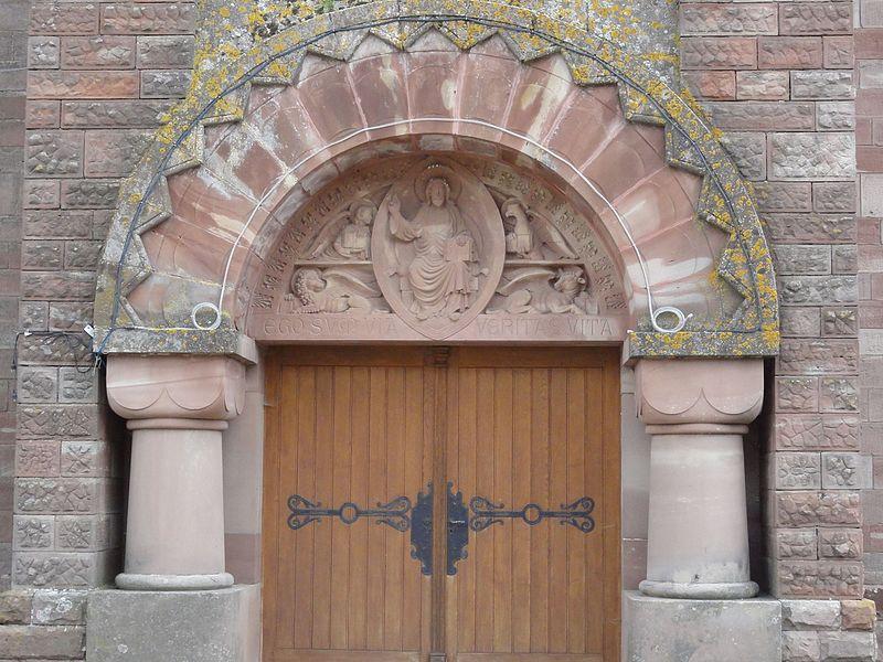 Bezange-la-Grande (M-et-M) église