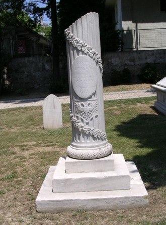 British German Legion - Memorial for members of the British German Legion in the British cemetery at Haydarpaşa, İstanbul.