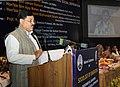 Bharatsinh Madhavsinh Solanki addressing at the inauguration of the National Conference on Sociology of Sanitation (Environmental Sanitation, Public health and Social Deprivation), in New Delhi on January 28, 2013.jpg