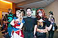 Big Wow 2013 - Supergirl, Tony Stark & Batgirl (8846378824).jpg
