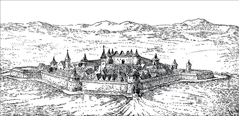 Bihac fort AD 1590