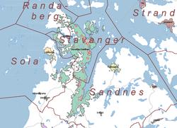 kart over stavanger kommune Stavanger – Wikipedia kart over stavanger kommune
