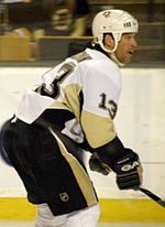 Bill Guerin avec les Penguins de Pittsburgh.