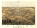 Bird's eye view of Romeo 1868. LOC 73693444.jpg