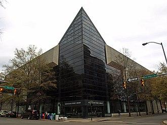 Birmingham Public Library - Image: Birmingham Public Library Nov 2011