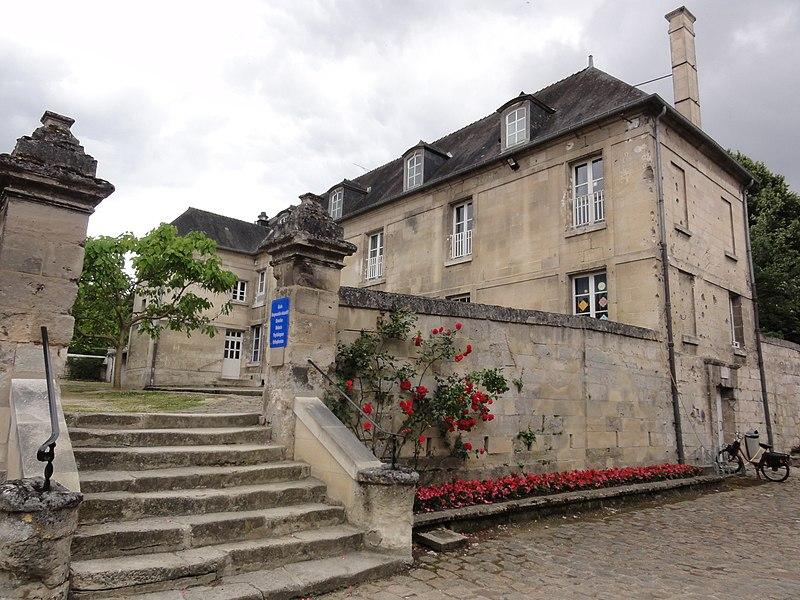Blérancourt (Aisne) Hôtel de Fourcroy, bâtiment secondaire