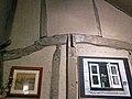 Black Horse Inn interior, Nuthurst West Sussex England, timber-frame wall.jpg
