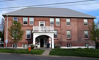 National Register of Historic Places listings in Klamath County, Oregon - Image: Blackburn Sanitarium 1 Klamath Falls Oregon