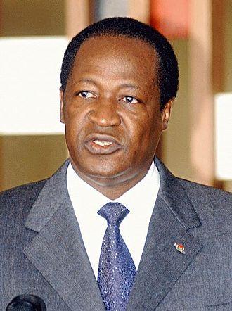 History of Burkina Faso - Blaise Compaoré