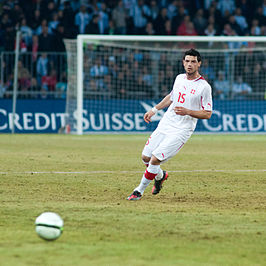 Blerim Dzemaili - Switzerland vs. Argentina, 29th February 2012.jpg