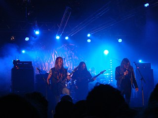 Bloodbath Swedish death metal supergroup