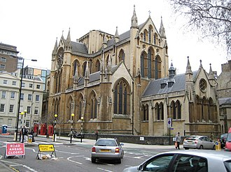 Forward in Faith - Image: Bloomsbury, The Church of Christ the King geograph.org.uk 671023