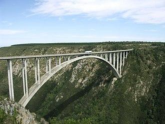 N2 road (South Africa) - Bloukrans Bridge