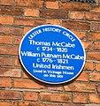 Blue Plaque to United Irishmen - geograph.org.uk - 484099.jpg