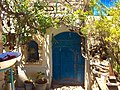 Blue door in Beit Castel gallery, Safed, Israel.jpg