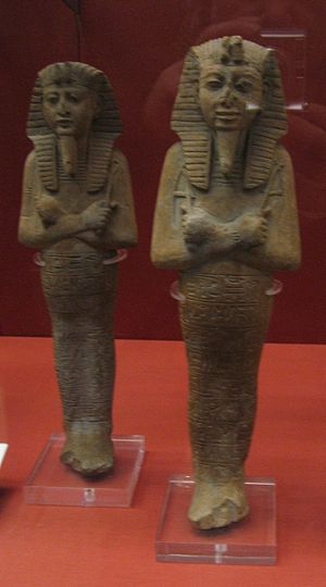 Ramesses VI - Ushabti of Ramesses VI in the British Museum