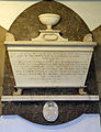 Bobbingworth, Essex, England - St Germain's Church interior - Capel Cure memorial 04.JPG