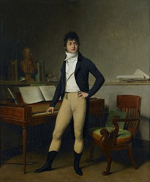 François-Adrien Boieldieu - Boieldieu by Louis Léopold Boilly, circa 1800 (Musée de Rouen).