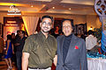 Bollywood Photographer Camaal Mustafa Sikander with Bollywood Actor Chandrashekhar.jpg
