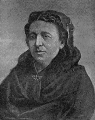 Pierre Napoléon Bonaparte - Justine Bonaparte, née Rufflin
