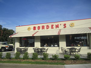 Lafayette, Louisiana - Lafayette is the location of the last remaining Borden's Ice Cream outlet in the United States.