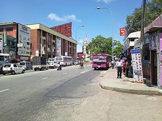 Borella Suburb in Western Province, Sri Lanka