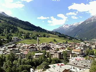 Bormio - Panoramic view