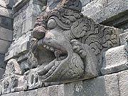 Borobudur spout