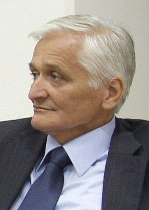 Nikola Špirić - Image: Borut Pahor and Nikola Špirić in 2010 crop