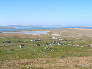 Berneray (North Uist) - Borve and the machair