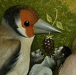 Bosch, Hieronymus - The Garden of Earthly Delights, central panel - Detail left bird feeding men.jpg