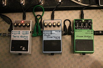 Boss Corporation - BOSS effect pedals