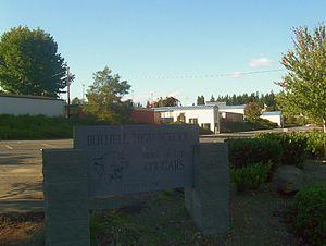 Bothell High School - Image: Bothell High Corner